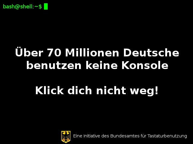 Über 70 Millionen Deutsche benutzen keine Konsole. Klick dich nicht weg!